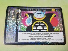 Dragon Ball Z DBZ CCG TCG Custom Panini Proxy Foil 33 King Kai's Tactics