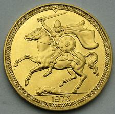 1973 Isle of Man 5 Pound British 1.1739 oz Gold