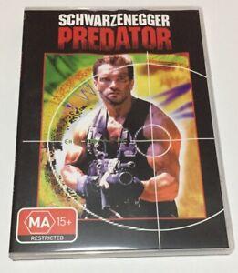 Predator - Arnold Schwarzenegger Carl Weathers DVD R4 Slimline Case