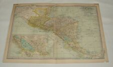 1902 map ~ CENTRAL AMERICA