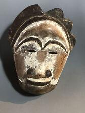 Old Mask Of Unknown Origins Vintage Antique