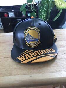Golden State Warriors new era NBA Black And Gold Snapback