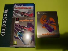WipEout Omega Collection Sony PS4 NEW + limited classic PS1 sleeve Steelbook BDL