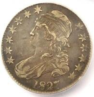 1827 Capped Bust Half Dollar 50C - ICG XF40 (EF40) - Rare Certified Coin
