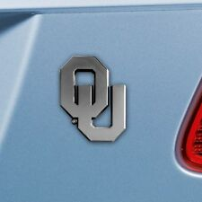 e52d4be6dbb Oklahoma Sooners OU NCAA Chrome Metal Auto Car Truck SUV Emblem Insignia