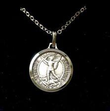 St Saint Michael The Archangel Necklace - Gift Boxed Pendant