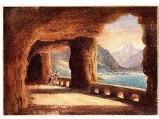 Künstlerische Grafiken & Handzeichnungen aus Schweiz mit Landschaft