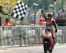 Marc Marquez signed Moto GP 10x8 photo Image L UACC Registered Dealer