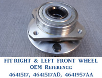 CHRYSLER VOYAGER GRAND VOYAGER MK2 MK3 1995 to 2008 FRONT WHEEL BEARING HUB