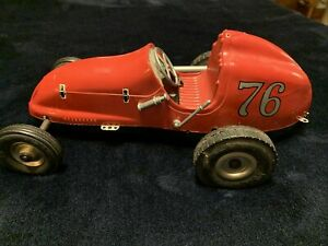 Nice Vintage Ohlsson & Rice Tether Race Car #76 No Motor