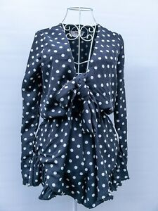 Lioness Long Sleeve Playsuit Size XS