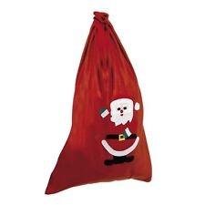 Christmas Santa Present Gift Chimney Bag Sack Motif Drawstring Tie 90 cm x 60 cm