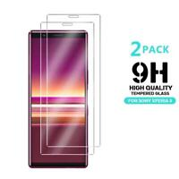 For Sony Xperia 5, HD Clear 9H Tempered Glass Screen Guard Protector (Pack Of 2)