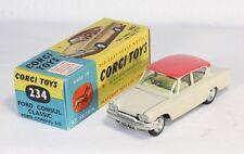 Corgi Toys 234, Ford Consul Classic, Mint in Box                         #ab1209