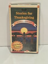 Stories For Thanksgiving A 2003 Weston Wood  Studios DVD 34 Min