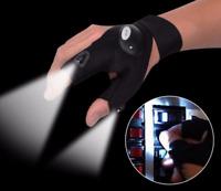 Fashion LED Light Finger Lighting Gloves Auto Repair Outdoors Flashing Artifact