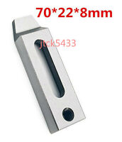 New Wire EDM Machine Stainless Jig Holder For Clamping 70 x 22 x 8mm M8 Screw