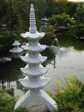 Pagode auf Brücke japanische Steinlaterne HUK5