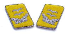WW2 German Luftwaffe Officer Collar Tabs (1st Lieutenant/Oberleutnant)