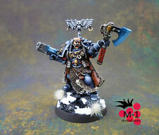 Warhammer 40k Space Wolves Rune Priest  M-1 pro-painted