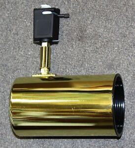 Track Light Head Brass