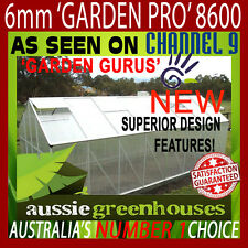 6mm POLYCARBONATE ALUMINIUM Garden Greenhouse SHADE GREEN HOUSE Shed HOT 8.6S