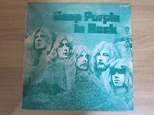 DEEP PURPLE - IN ROCK Korea Green Cover Vinyl LP