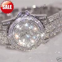 Exquisite Womens Watch Rhinestone Ceramic Crystal Stainless steel Quartz watches