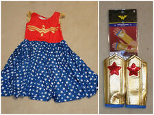Wonder Woman Hugs Dress and Arm Warmers Charlie's Project