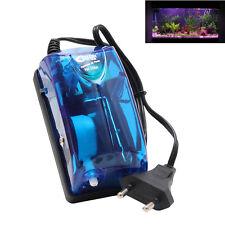 NEW Aquarium Fish Tank Water Oxygen Air Pump EU Plug