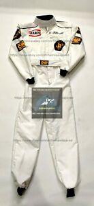 1972 Emerson Fittipaldi Racing Suit Go Kart Suit Karting Suit F1 Suit Race Suit