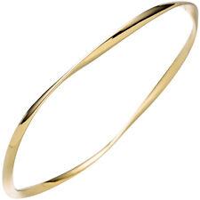 Armreif Armband 925 Sterling Silber Gold vergoldet 1stück 46367