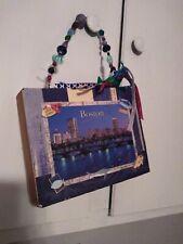 Boston Harbor and Sailboats cigar box purse. Handmade NWT