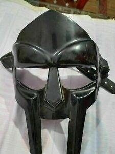 MF Doom Gladiator Mask Madvillain 18g Mild Steel black Face Armor Replica Gift