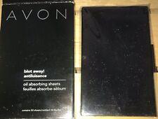 1 Avon Blot Away Oil Absorbing Sheets (50) New in Black Case