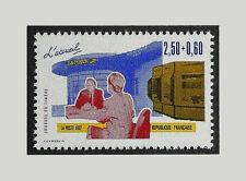 TIMBRE 2744 NEUF XX LUXE - LES METIERS DE LA POSTE - JOURNEE DU TIMBRE 1992