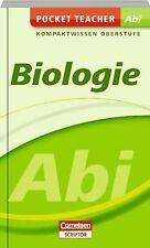 Pocket Teacher Abi Sekundarstufe II Biologie von Kleesat...   Buch   Zustand gut