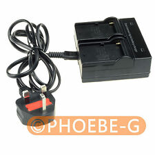 Dual Voltage AC/DC Rapid Battery Charger For Sony F970 F770 F750 F570 F550 F530