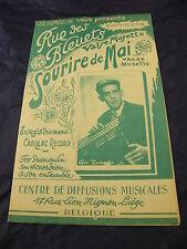 mirtilli di partizione Street Sourire può P. Boussereau G. Dumoulin 1959
