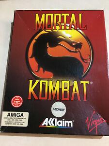 Mortal Kombat Amiga 500 600 1200 disc game