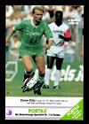Dieter Eilts Autogrammkarte Werder Bremen 1989-90 Original Signiert+G 14924