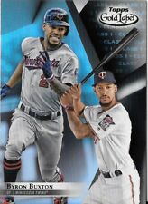 Byron Buxton 2018 Topps Gold Label Class 1 Black Parallel Twins #59