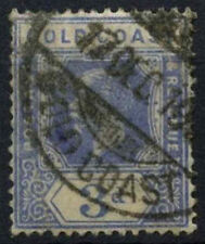Gold Coast 1913-21 SG#91, 3d Bright Blue KGV Used #D32791