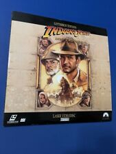 Indiana Jones and the Last Crusade - Laserdisc - Very Good - Letterbox Edition