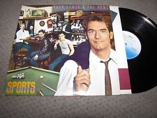HUEY LEWIS AND THE NEWS - SPORTS - CHRYSALIS RECORDS LP