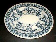 "W T Copeland Spode & Sons Staffordshire England Gray GREY DELHI 11"" Platter 1860"