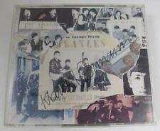 "Klaus Voormann THE BEATLES Signed Autograph ""Anthology I"" CD"