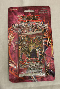 Yu-Gi-Oh TCG Magician's Force English Ed Factory Sealed Booster Blister Pack