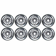 110mm black inline wheel by Trurev. (8 in set ) NEW 2016 SKATE WHEEL. 85A
