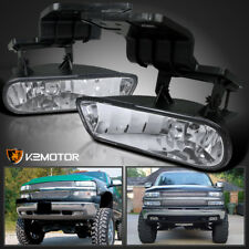 00-06 Chevy Suburban/ Tahoe 99-02 Silverado Clear Driving Bumper Fog Lights